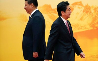 How is changing Japan's foreign policy toward China in 21st century?