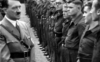Why did the German people followed Hitler's NSDAP party and overlooked its anti-Semitic statements?