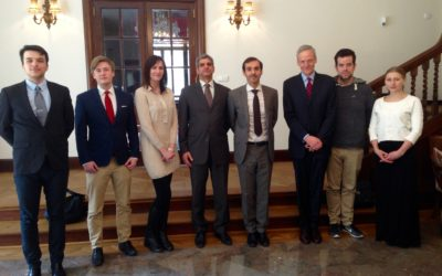 Discussion with HE Mr Ayman Mohammad Aladsani, Ambassador of Kuwait to the Czech Republic