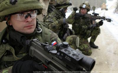 Diskuze s generálem Štěpánkem na téma Blízký východ a vyhodnocení rizikových situací